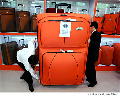 Huge Suitcase
